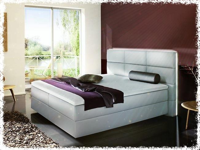 Das Boxspringbett: Anspruchsvolles Design kombiniert mit hohem Schlafkomfort